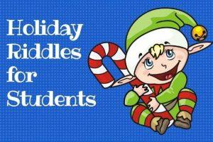 holidays riddles