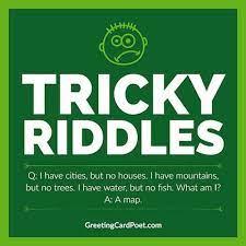 Best Tricky riddles